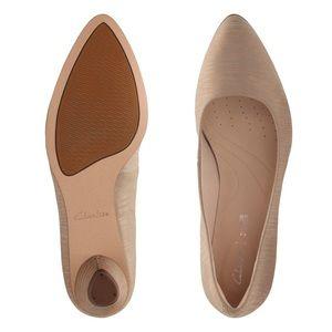 EUC Clark's Mena Bloom Sand Heel